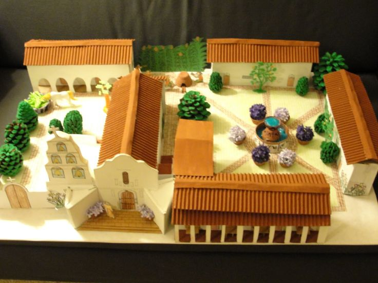 how to build a model church for school project