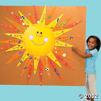 Bulletin Board Sun