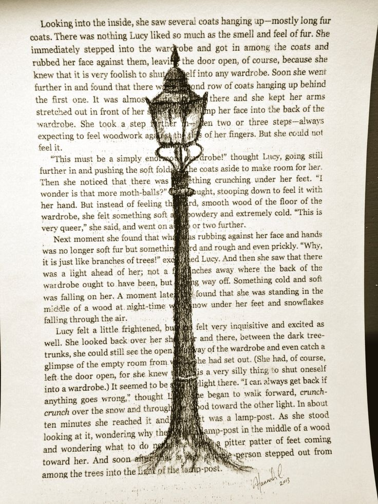 Narnia lamp post. Sketched with charcoal. narnia