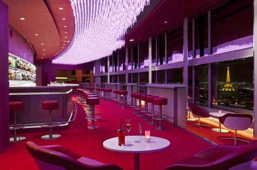 Enjoy a drink and stunning Parisian views from the 34th floor  of the **** Concorde La Fayette!