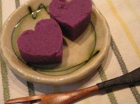 ずっしり満足!むらさきいもようかんSatisfaction heavily! Purple potato jelly