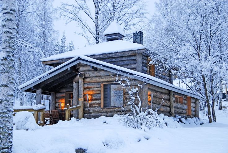 Log Villa in Hotel & Spa Resort Järvisydän.