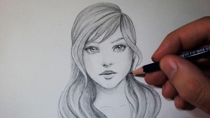 Comment dessiner un visage : Avec un crayon gris [Tutoriel]