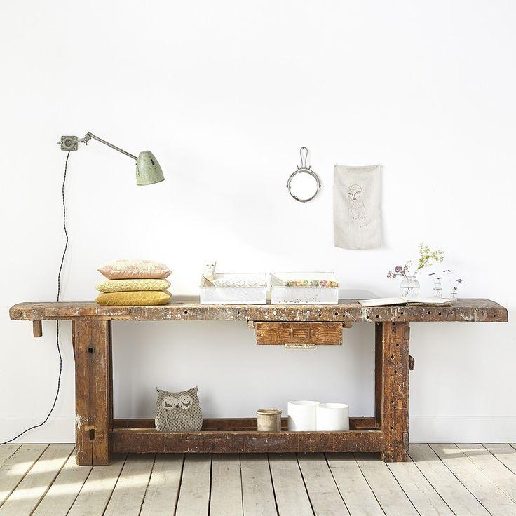 1000 id es sur le th me etabli bois sur pinterest. Black Bedroom Furniture Sets. Home Design Ideas