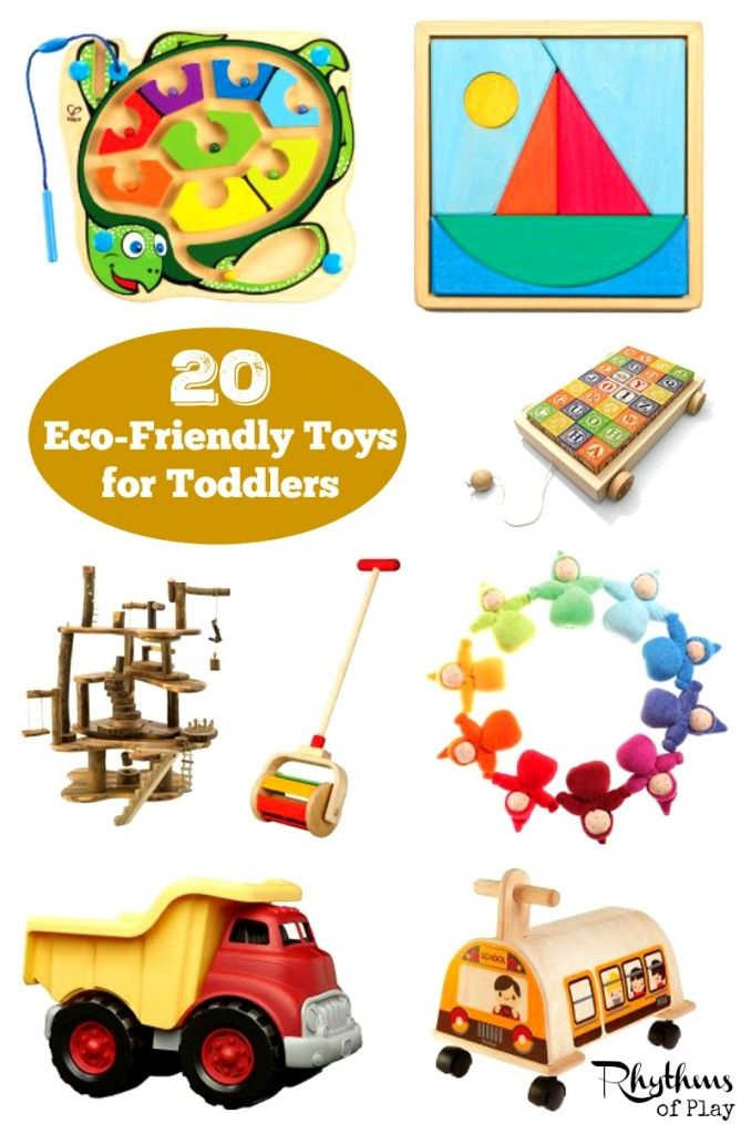 Toys made of wood and other natural materials provide a rich sensory experience for the developing child. This gift guide contains Waldorf and Montessori inspired eco-friendly toys for toddlers that boost development naturally.
