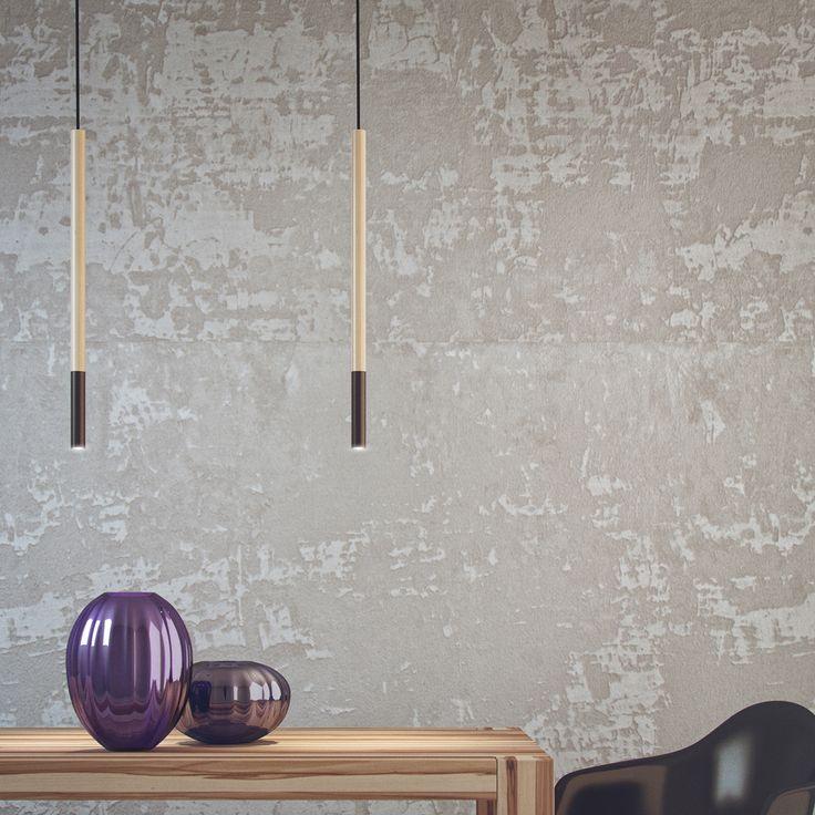 STICK - design Nicolò Zavagno & Irregolare A pendant lamp doesn't have to take on a specific shape.