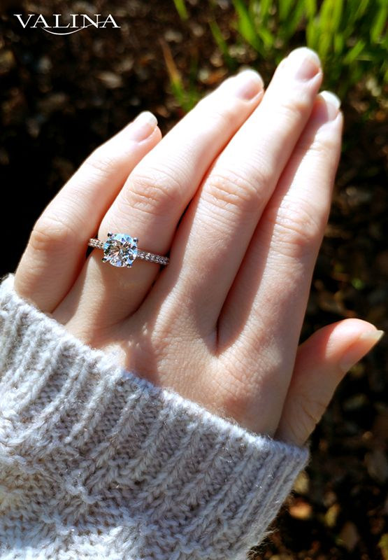 Best 106 Valina ideas on Pinterest | Diamond engagement rings, Halo ...