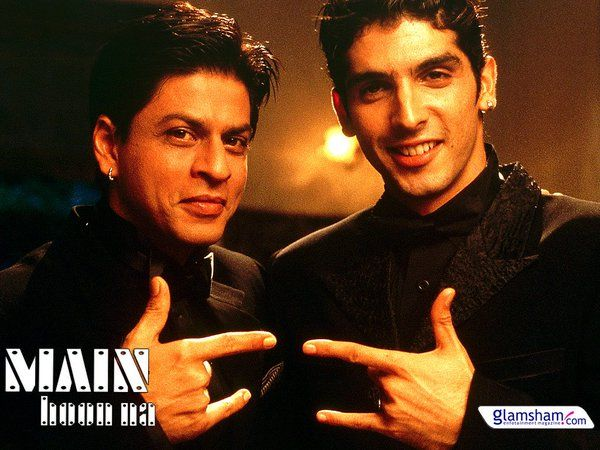 MAIN HOON NA, WITH ZAYED KHAN 2004