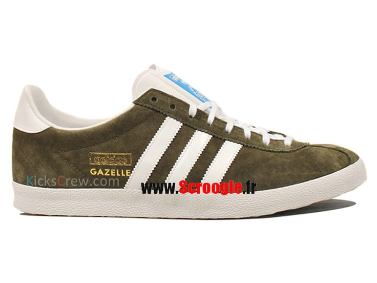 Chaussures de Originals Pas Cher Pour Homme/Femme Adidas Gazelle OG Chêne/blanc/metgol G63200