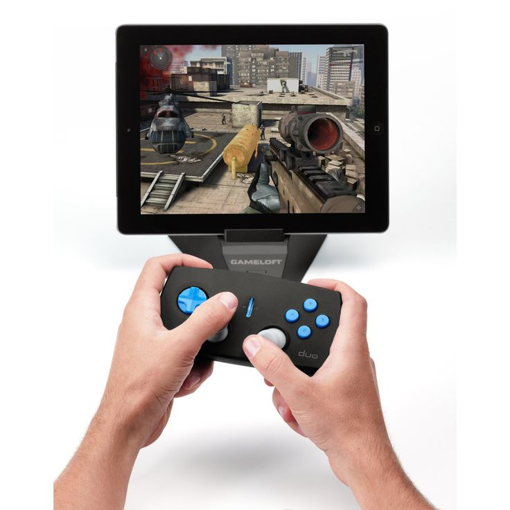 Duo Gamer iPad Accessory Turns Your iPad Into A ConsoleSee More Ipads & Accessories at http://buyipad2reviews.com/