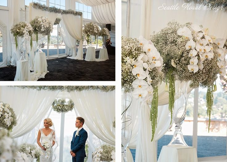 4-white-wedding-contemporary-ceremony-bouquet-New-Castle-orchids-calla-lily-gypsophila-Seattle-Floral-Design4.jpg (826×590)