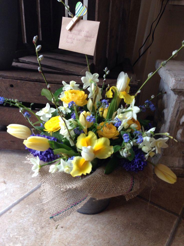Wild Wondrous British Spring Bucket Wildandwondrousflowerscouk Eco Florist FlowersBritish WeddingBolton