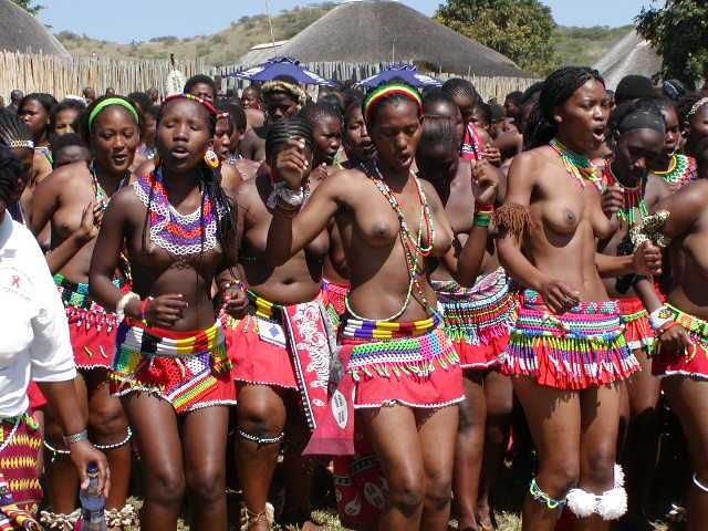 Zulu Women Bathing 84