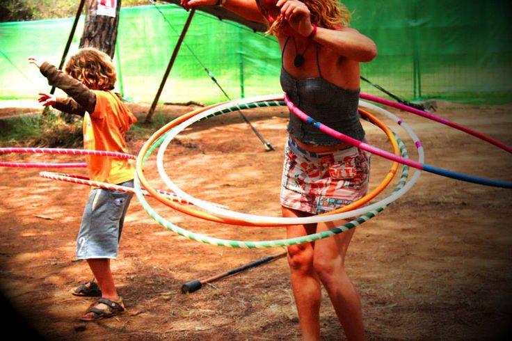 Adults and Kids .... hoop Fun!