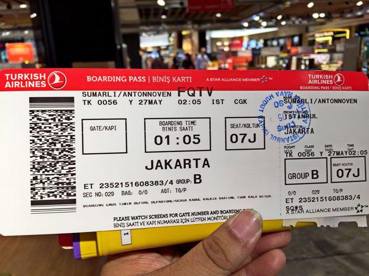 TK 056 Istanbul Jakarta 27 May 2015