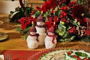 Ideia de presente de amigo secreto: velas natalinas