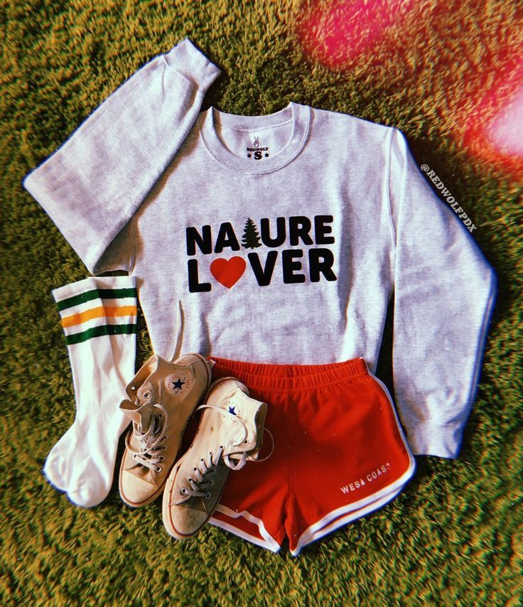 Nature Lover Sweatshirt Aesthetic Clothes Cute Lazy Outfits Outfits For Teens