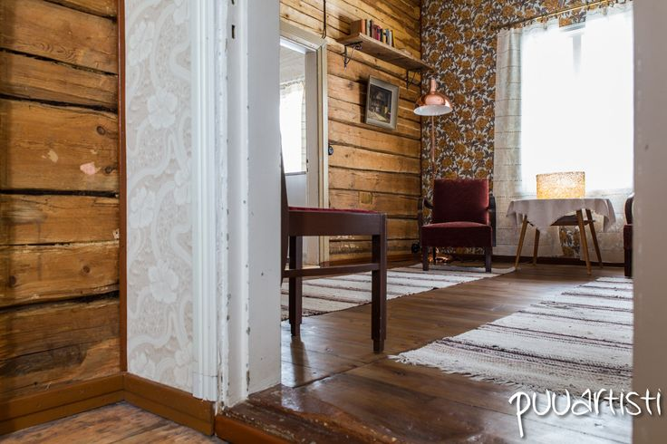 Renovation of a 19th century old and rustic mansion in Finland.