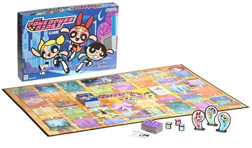 Powerpuff Girls Board Game - Saving the World Before Bedtime: Great Fun Game based on the Great TV cartoon