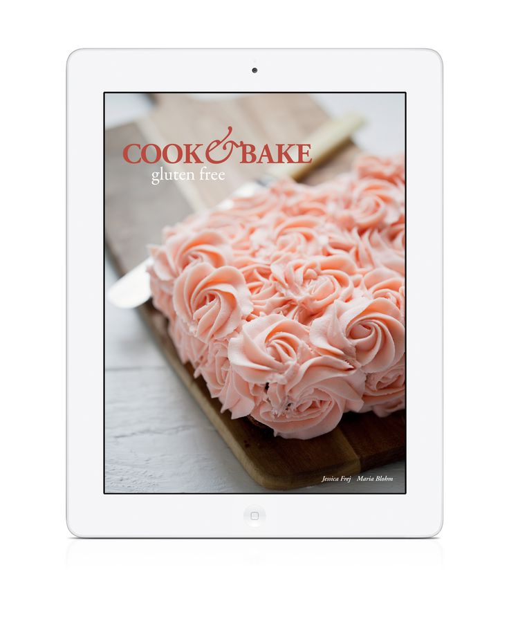 Rose Cake #glutenfree #glutenfri Cook & Bake Gluten Free is a #baking #cookbook #app filled with delicious recipes for cakes - tasty and gluten-free! Available for #iPad and #iPhone. https://itunes.apple.com/gb/app/cakes-cook-bake-gluten-free/id669052535?mt=8