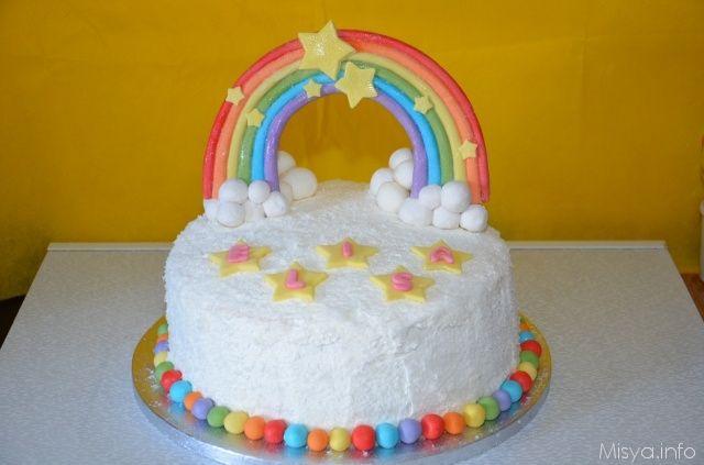 Rainbow cake, scopri la ricetta: http://www.misya.info/ricetta/rainbow-cake.htm