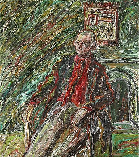[thoroughly] MODERN KLATCH Peter Higgs (as in Higgs particle!) from National Galleries Scotland