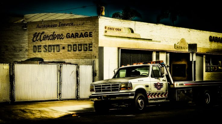 El Cordova Garage in Coronado Coronado island, Coronado