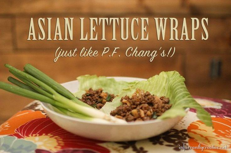 PF Chang's Lettuce Wrap Copycat