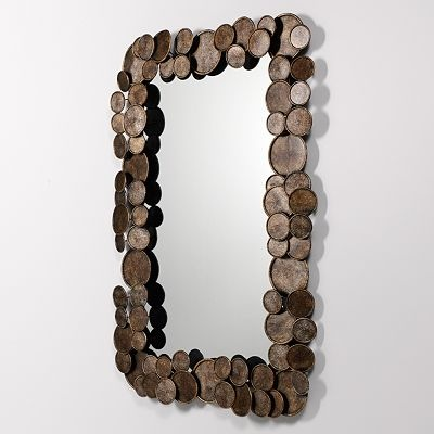 Coin Mirror Wall Decor - on sale, maybe want