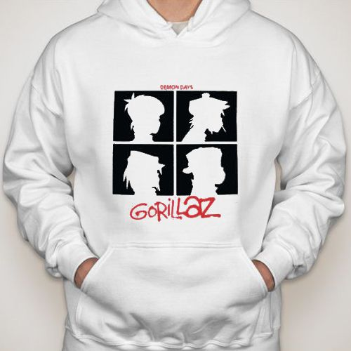 Gorillaz Demon Days hoodie gift shirt sweater custom clothing Unisex