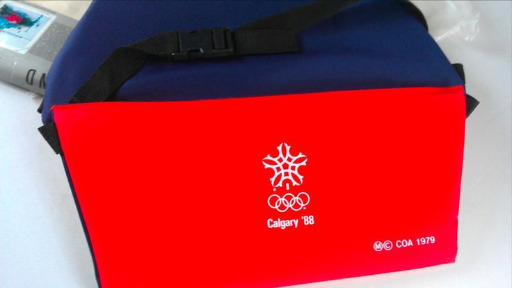 Calgary Canada Olympics BearSeat NEW Padded Travel Chair 1988 The Happy End http://www.ebay.com/itm/-/292068130961?roken=cUgayN&soutkn=wb7Snl #tbt #vintage #80s #gifts #giftideas