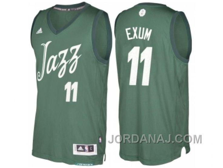 http://www.jordanaj.com/mens-utah-jazz-11-dante-exum-green-2016-christmas-day-nba-swingman-jersey.html MEN'S UTAH JAZZ #11 DANTE EXUM GREEN 2016 CHRISTMAS DAY NBA SWINGMAN JERSEY Only $19.00 , Free Shipping!