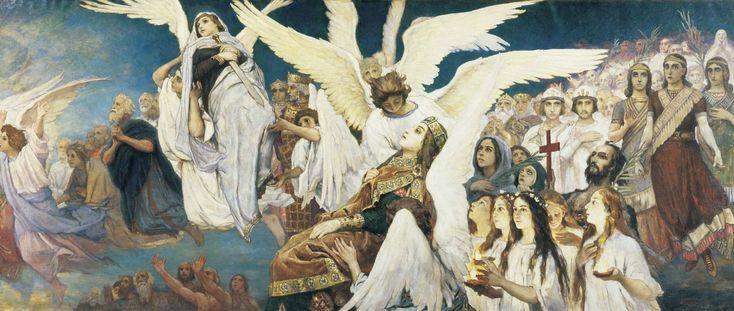 Виктор Михайлович Васнецов. Триптих «Радость праведных о Господе. Преддверие…