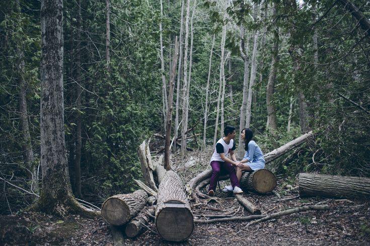 Belfountain Conservation Area // Engagement Session // Outdoors // Adventures // Love // Couple Goals // Hipster // Muskoka Wedding Photographer ©Eleanor Dobbins Photography