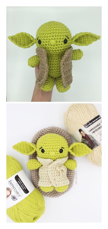 Aliens amigurumi crochet pattern [MP041] - USD $5.00 : PlanetJune ... | 1440x680