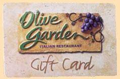 $100 Olive Garden Gift Card