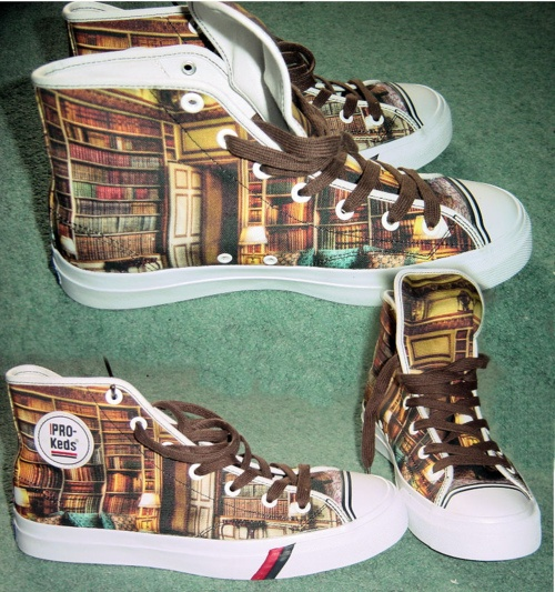 Library shoes...love these!