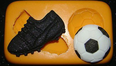 Silicone mould #football boot ball cake cupcake boys #birthday fimo #resin polyme,  View more on the LINK: 	http://www.zeppy.io/product/gb/2/181228673257/