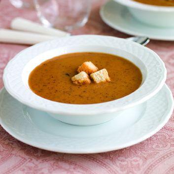 Receita Sopa de feijão encarnado com abóbora por Equipa Bimby - Categoria da receita Sopas