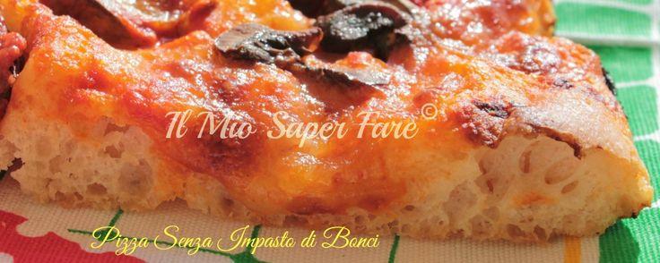 Pizza senza impasto Bonci a lunga maturazione