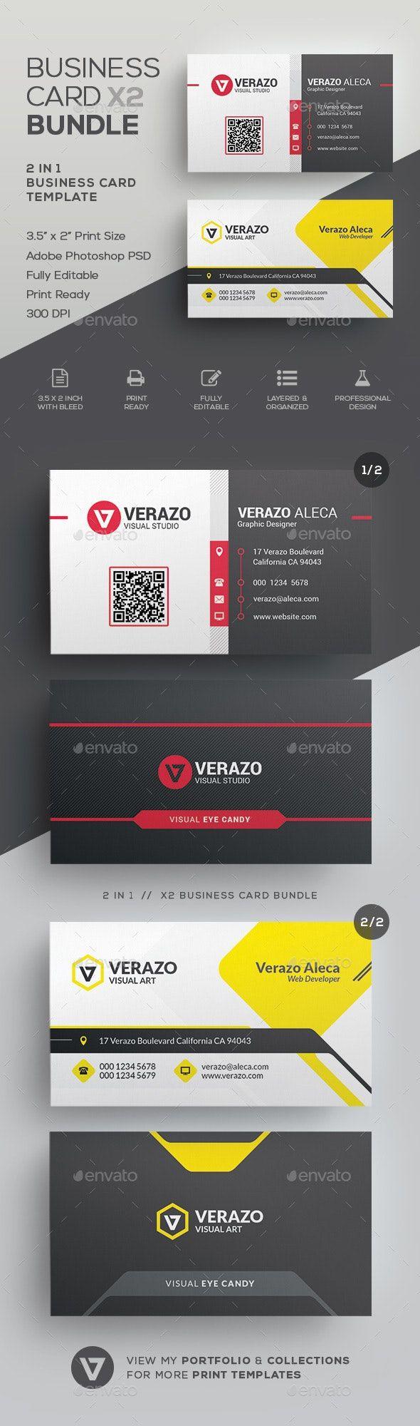 Business Card Bundle 58 Business Card Template Psd Buy Business Cards Corporate Business Card