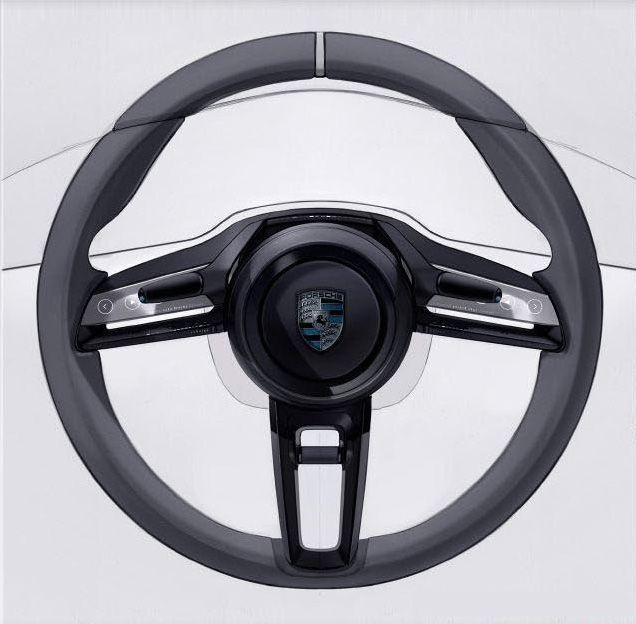 Porche Steering Wheel
