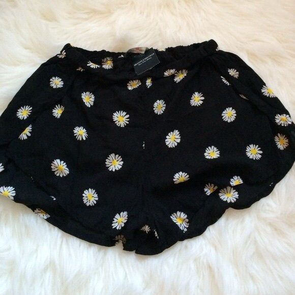 Brandy Melville Daisy Shorts Daisy shorts that come in one size. Not sold on Brandy anymore. Exclusive and cannot be bought in store or online! Brandy Melville Shorts