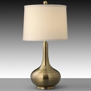 Finish: Satin Antique Brass,Shade: Light Beige Lenore; This isn't asian style per se, but it would look great with the comforter