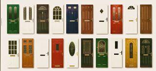 Marzua: Tipos de puertas