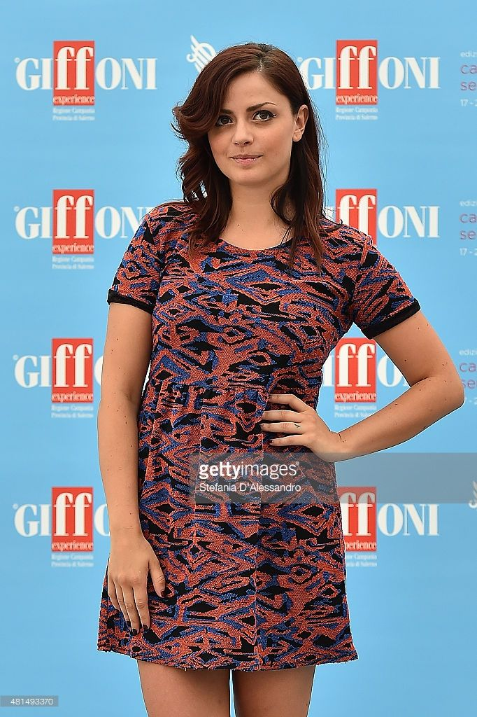 Annalisa Scarrone attends Giffoni Film Festival 2015 - Day 5 photocall on July 21, 2015 in Giffoni Valle Piana, Italy.