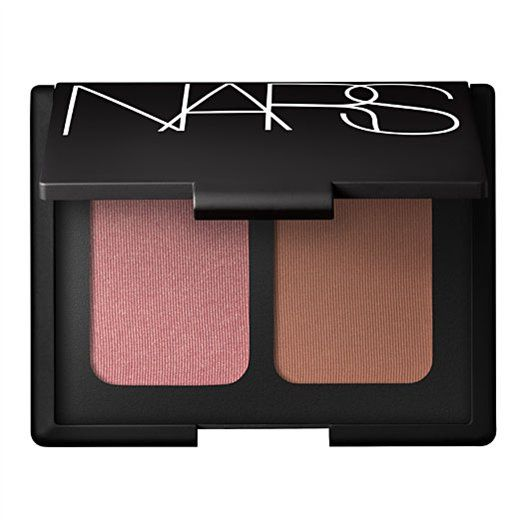 NARS Laguna bronzer/Orgasm blush duo - one of the best makeup purchases I ever made.