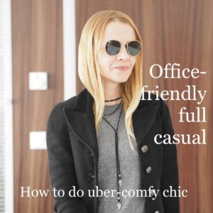 Office-friendly vs. casual: how to work out the rules and build an outfit that's totally comfortable, sleek enough to blend in but chic enough to stand out.