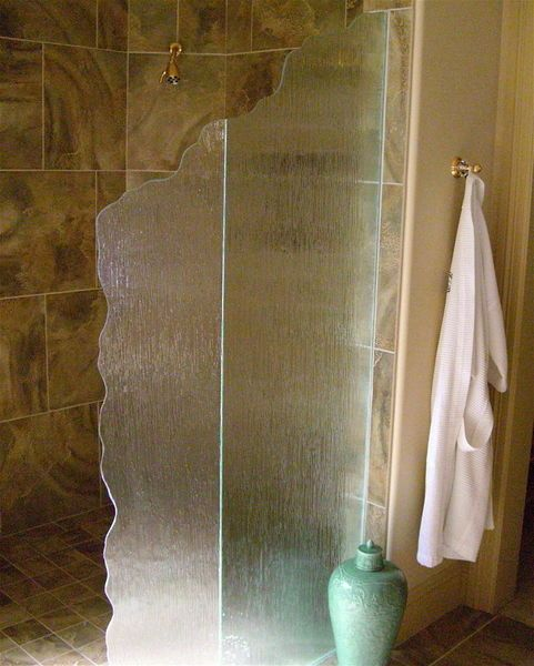 glass shower partition** | Glass shower panels, Rain glass ...