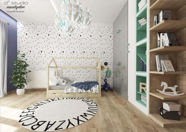 Pokój dla chłopca - zdjęcie od D2 Studio - Pokój dziecka - Styl Skandynawski - D2 Studio